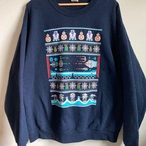 Star Wars Droid Hoth Unisex Holiday Sweatshirt